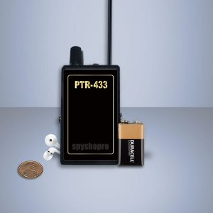 Professional UHF Receiver stabilized 418 or 433 MHZ