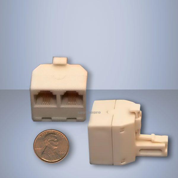 Dual phone adapter wiretap