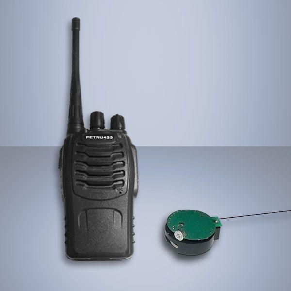 Set transmitter receiver UHF