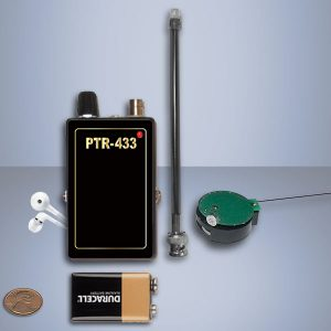Set UHF receiver 433MHz and small spying bug