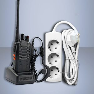 SET UHF receiver and power VOX power strip EU extension